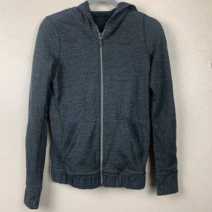 Lululemon Hoodie Zip Up Sweater Jacket 4 Gray